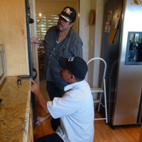 San Jose Appliance Repair - Gilbert and his dad, Ray - Family owned and operated